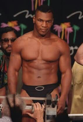 Mike Tyson Weigh in