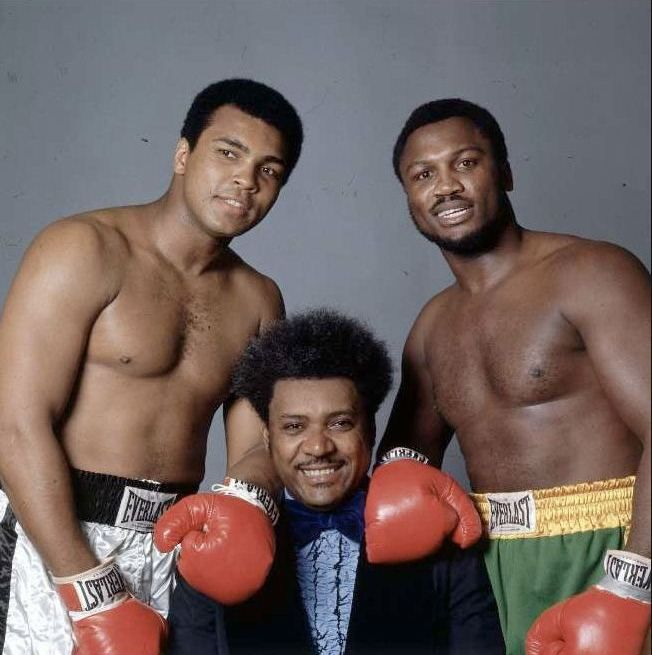 Don King with Ali and Fraizer