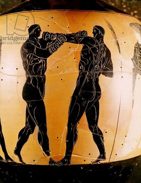 History-Greek-pottery-depicting-a-boxing-match
